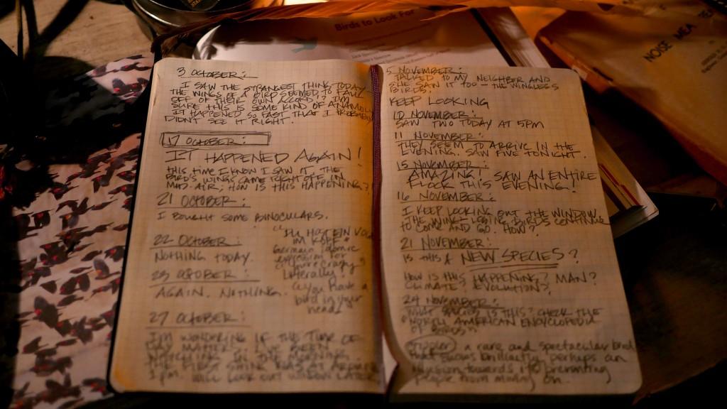 Birdless / Wingless logbook